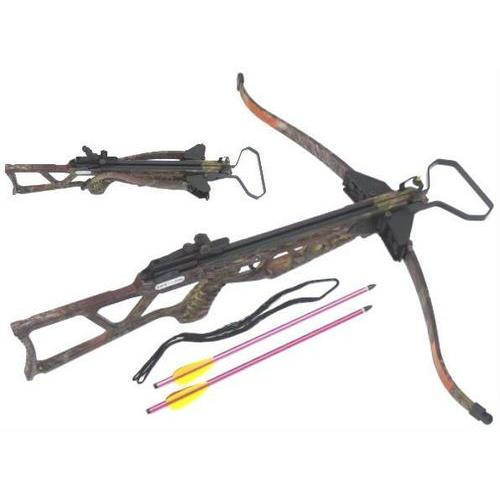 180 Pound Draw Camo Crossbow MK180TC