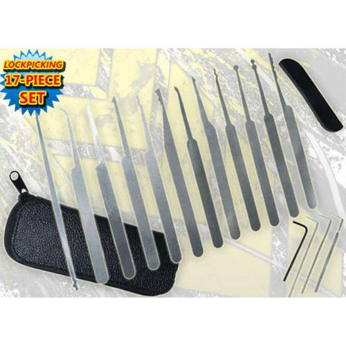17pc Lockout Tool Kit P119