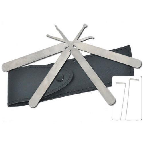 6pc Lock Pick Tool Kit & case P15931