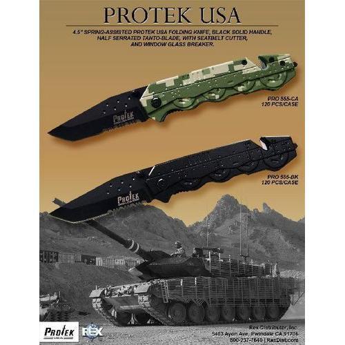 SALE Protek TANK Rescue Knife PRO555CA