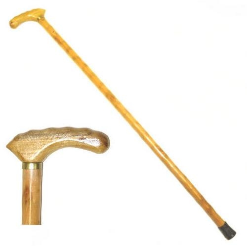 35 in Fritz Handle Wooden Walking Cane WS7130