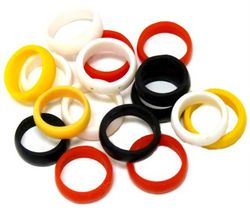 12- Assorted Hand Made Rings Cring