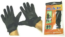 Category: Dropship Tactical Gear, SKU #SGN203-XL, Title: Real Leather Sap Gloves SGN203-XL