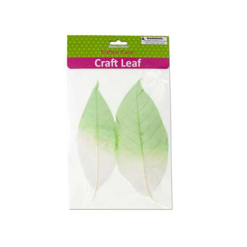 Dyed Natural Craft Leaves ( Case of 20 )