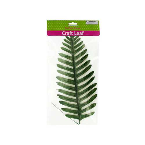 Tropical Craft Leaf with Wire Stem ( Case of 20 )