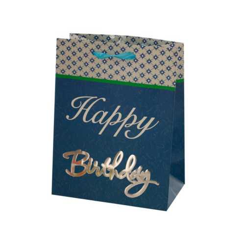 Small Happy Birthday Giftbag 4 styles Assorted ( Case of 72 )