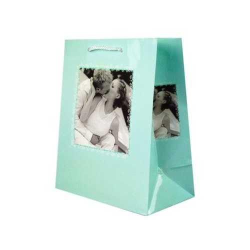 Turquoise Romantic Medium Gift Bag ( Case of 24 )