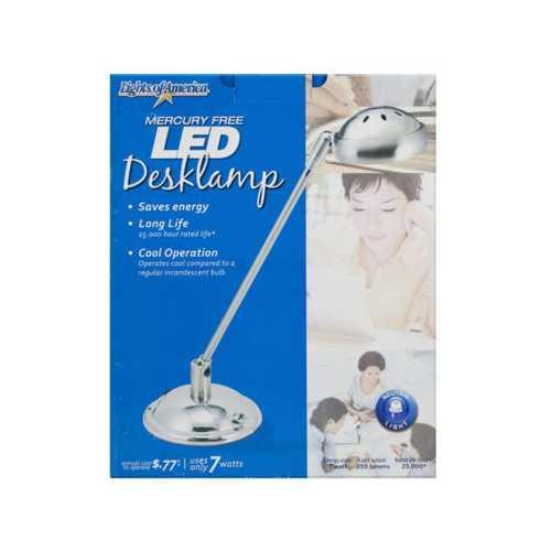 7 Watt LED Desklamp ( Case of 3 )
