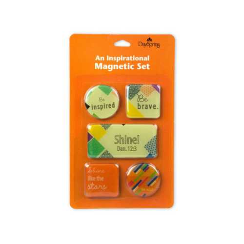 Day Spring Inspirational Magnetic Set of 5 ( Case of 72 )