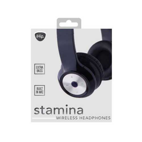 ihip stamina bluetooth over the ear headphones ( Case of 6 )