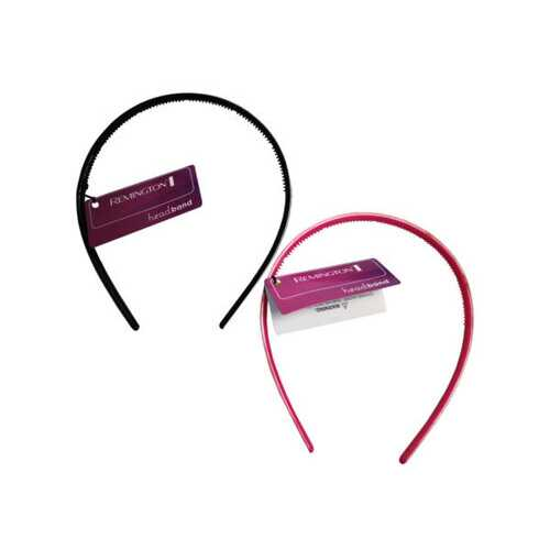 1 Count Thin Glitter Head Band in Pink and Silver Assorted Colors ( Case of 20 )