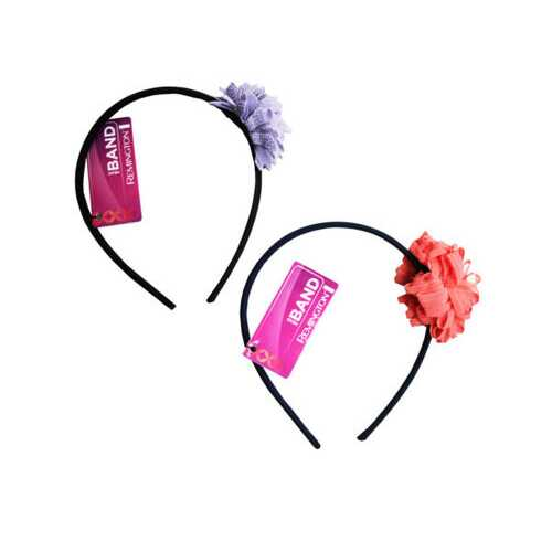 1 Count Flower Head Band in Assorted Colors ( Case of 54 )
