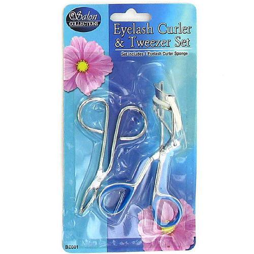 Eyelash Curler & Tweezers Set ( Case of 48 )