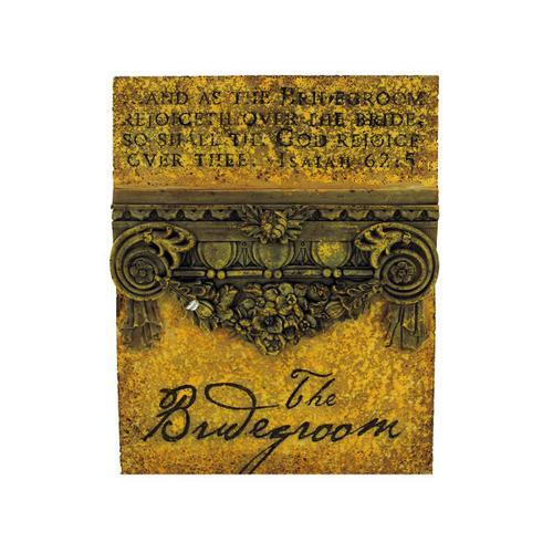 Bridegroom Plaque ( Case of 36 )