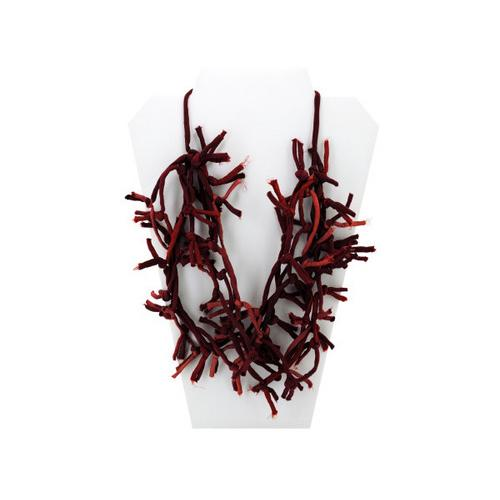 Red Knotted Necklace ( Case of 48 )