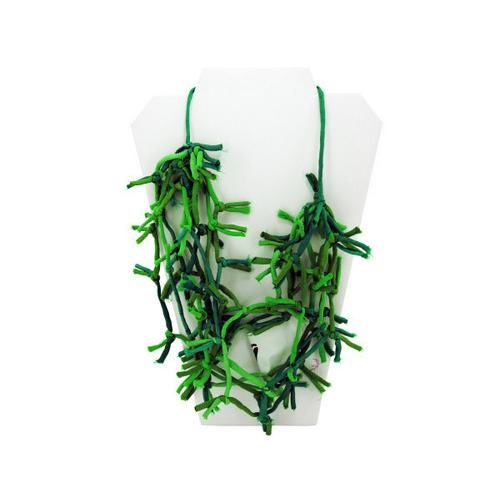 Green Knotted Necklace ( Case of 16 )