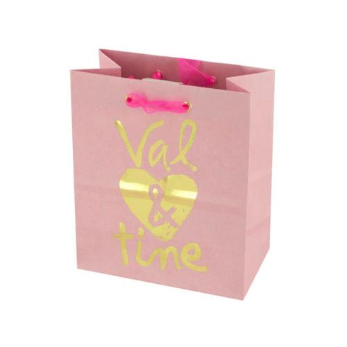 'Val & Tine' Small Gift Bag ( Case of 144 )