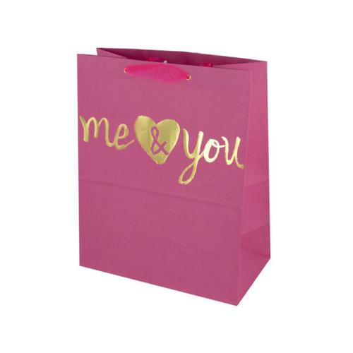 'Me & You' Medium Gift Bag ( Case of 72 )