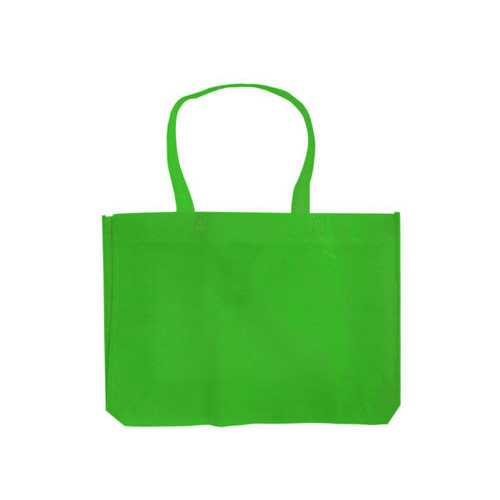 Apple Green Medium Lightweight Shopping Tote ( Case of 30 )