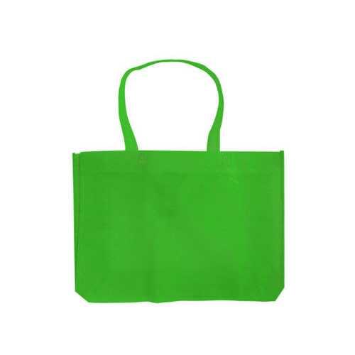 Apple Green Medium Lightweight Shopping Tote ( Case of 90 )