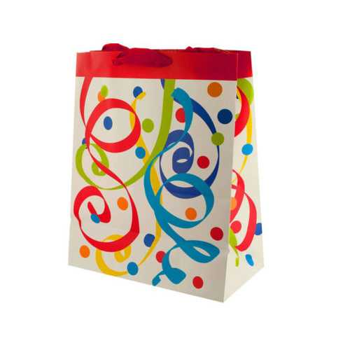 Party Streamers Large Gift Bag ( Case of 20 )