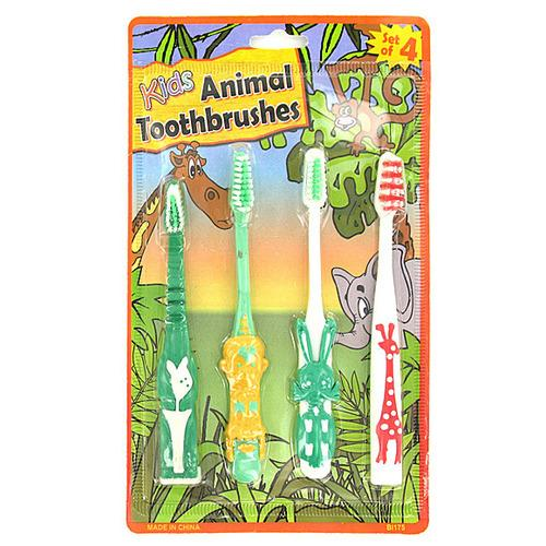 Kids Animal Toothbrushes ( Case of 24 )