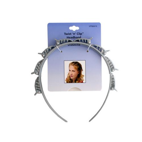 Twist 'n' Clip Headband ( Case of 72 )