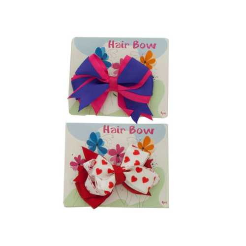 Children's Hair Bow ( Case of 72 )
