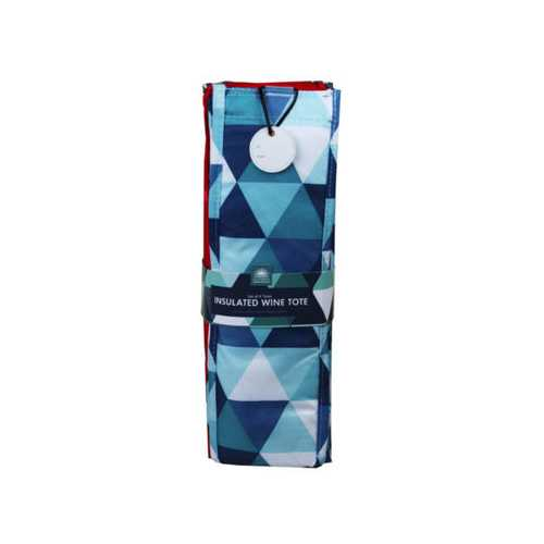 Geometric Set of 4 Insulated Wine Totes ( Case of 12 )