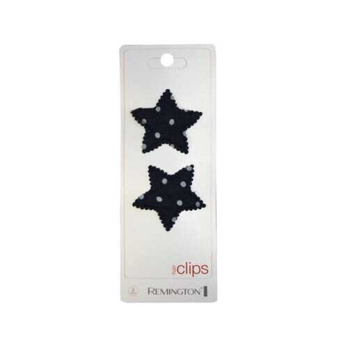 denim star hair clips ( Case of 30 )