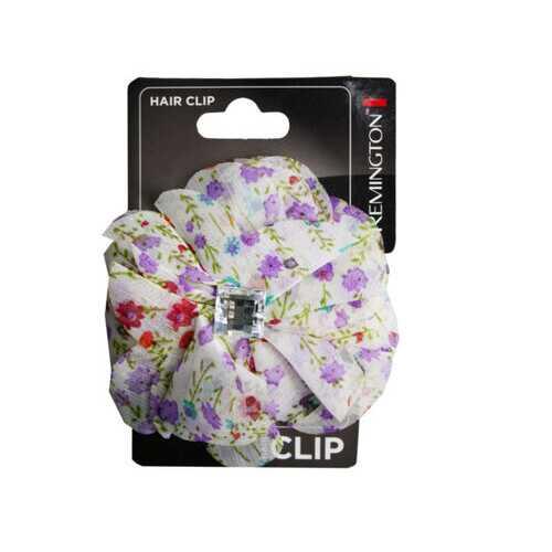 Floral Print Salon Clip with Gems ( Case of 72 )