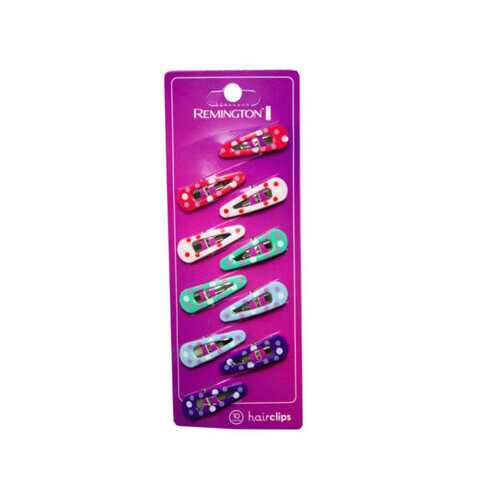 10 Count Hairclips in Assorted Colors ( Case of 72 )