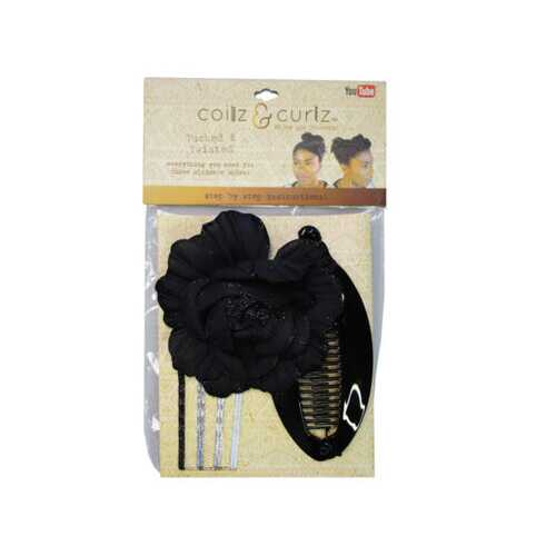 coilz and curls tucked and twisted accessory set ( Case of 24 )