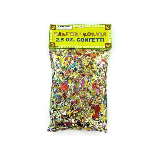 Jumbo Craft Confetti Pack ( Case of 12 )
