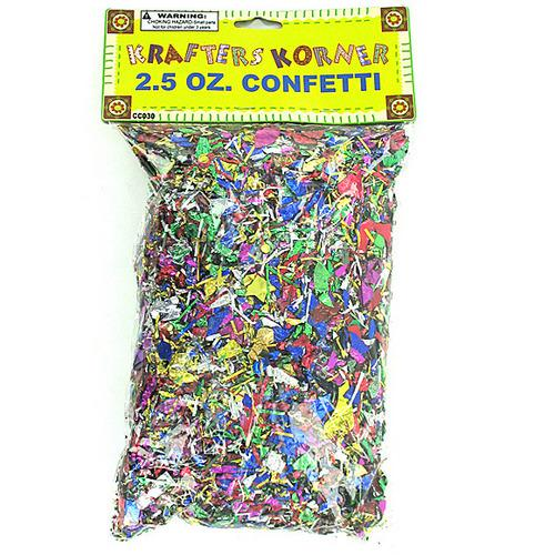 Jumbo Craft Confetti Pack ( Case of 48 )
