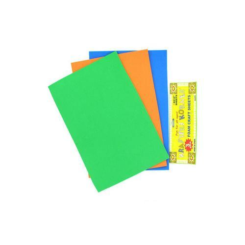 Foam Craft Sheets ( Case of 48 )