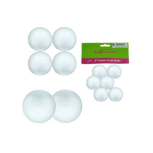 Large Foam Craft Balls ( Case of 12 )
