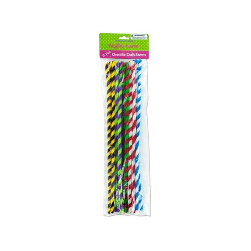 Chenille Craft Stems ( Case of 24 )