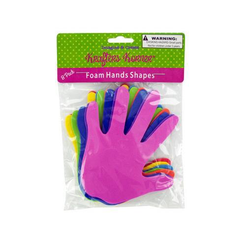 Foam Craft Hands ( Case of 48 )