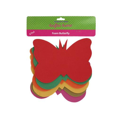 Foam Butterfly Craft Shapes ( Case of 48 )