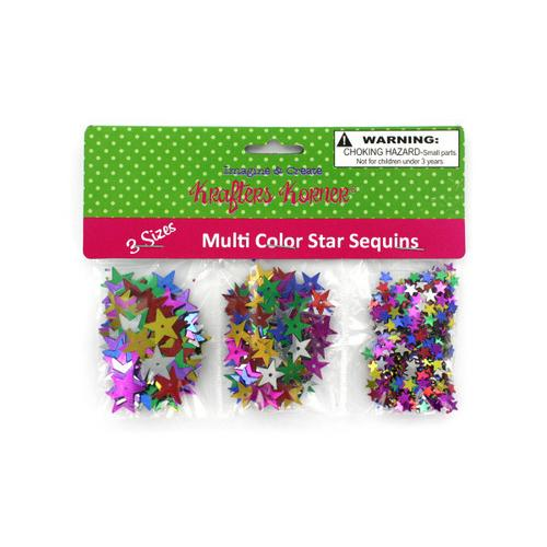 Star-Shaped Craft Sequins ( Case of 48 )