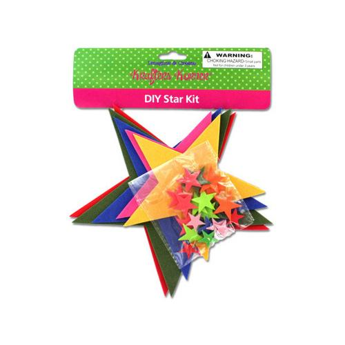Do-It-Yourself Foam Star Craft Kit ( Case of 24 )