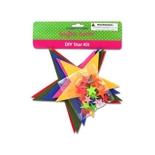 Do-It-Yourself Foam Star Craft Kit ( Case of 36 )