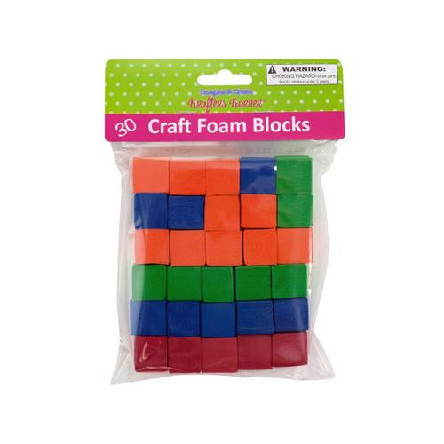 Craft Foam Blocks ( Case of 24 )