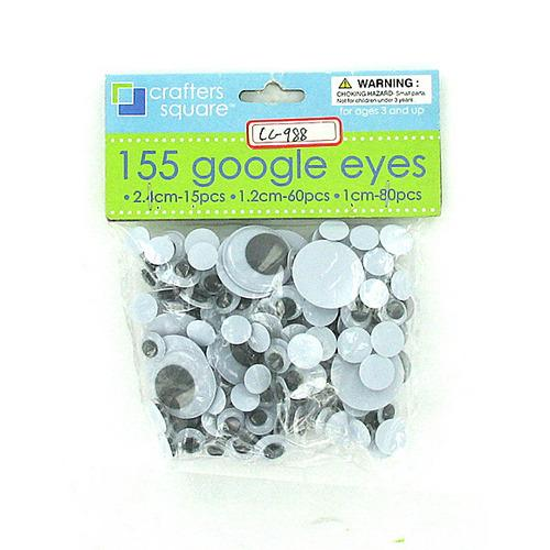 Plastic Craft Wiggly Eyes ( Case of 96 )