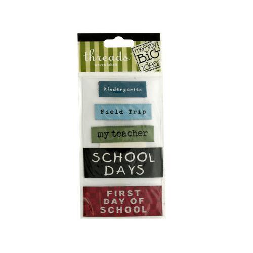 School Woven Labels ( Case of 72 )
