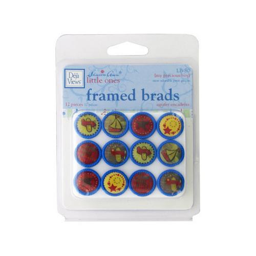 My Precious Boy Framed Brads ( Case of 72 )