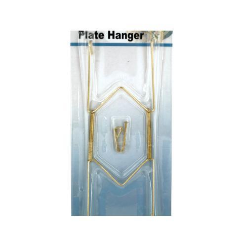 Brass Plated Plate Hanger Set ( Case of 24 )