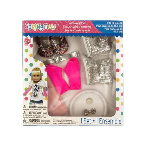 Glitter Doll Accessory Gift Set ( Case of 18 )