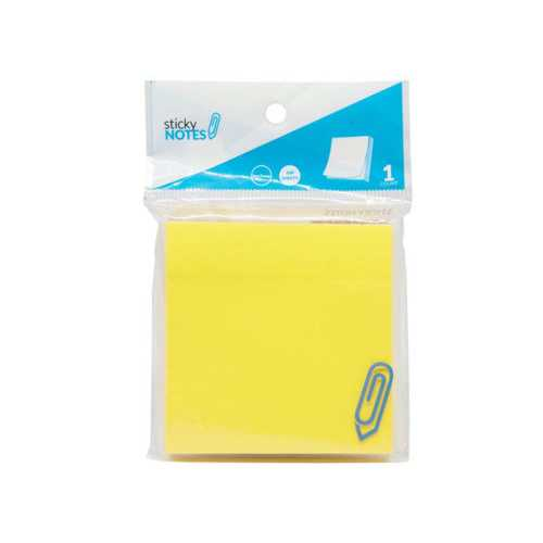 "3"" X 3"" Neon Yellow Sticky Notes ( Case of 24 )"